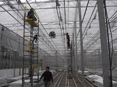 Rufepa greenhouse assembly 1