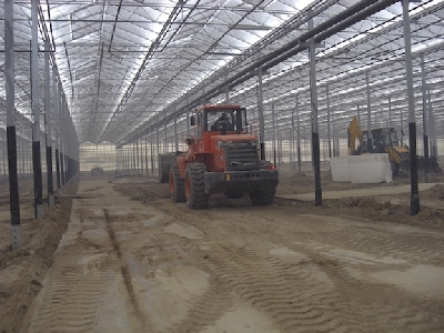 Rufepa greenhouse assembly 2
