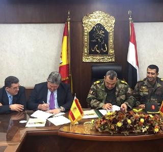 Firma Contrato Egipto