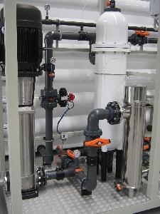 Reutilización de agua y desinfección UV